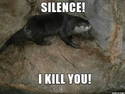 Otter Memes - death stare otter meme on imgur