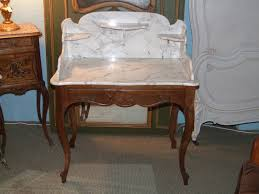 Antique Bedroom Furniture With Marble Top F466 S Antique French Marble Top Dressing Table Wash Stand