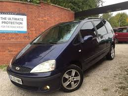ford galaxy interior 2002 ford galaxy 1 9 tdi automatic full leather interior bargain