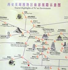 map of xi an xian maps china xian maps xian travel guide