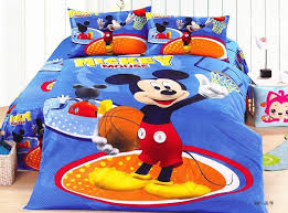 basketball mickey mouse bedding sets children u0027s boys bedroom decor