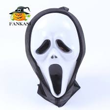 Halloween Costumes Scream Mask Aliexpress Image