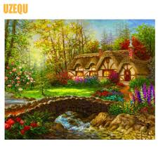 online buy wholesale diamond painting country cottage from china