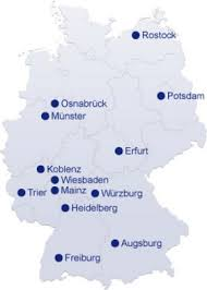 map of germany cities contact historic highlights of germany