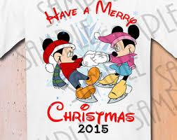 disney family mickey mouse merry christmas printable iron