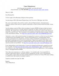 mechanical engineering cover letter examples advanced