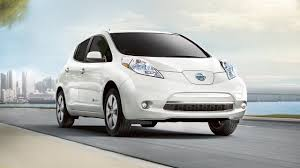 white nissan car 2017 nissan leaf electric car 100 electric 100 fun