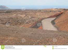 road in stone desert stock photos image 11207833