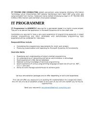 Best Resume Format For Java Developer by Erp Implementation Resume Sample Resume For Your Job Application