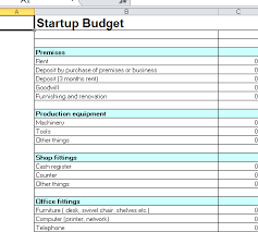 Corporate Budget Template Excel 28 Business Startup Spreadsheet Template Useful Microsoft Word