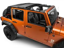 jeep soft top open extremeterrain launches the rage frameless trailview soft top