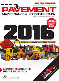 pavement maintenance u0026 reconstruction december 2015 by