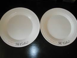 plates for wedding wedding dinner plates lettering studio