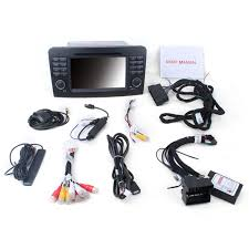android 7 1 gps navigation system for 2005 2012 mercedes benz ml