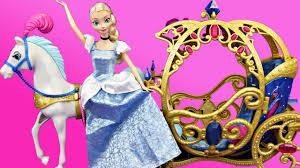 elsa cinderella story cinder elsa disney princess carriage frozen