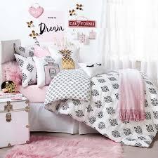 Pink And Gray Comforter Dorm Bedding Dorm Room Bedding College Bedding Dormify
