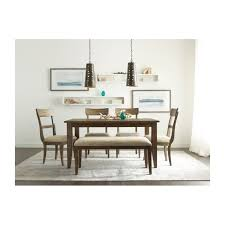 kincaid dining room furniture design center 60 inch rectangular leg dining table 663 760 640 622 the nook oak