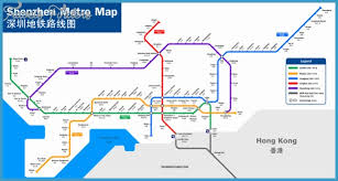 mtr map shenzhen mtr map travel map vacations