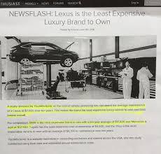 lexus cpo maintenance lexus tops reliability clublexus lexus forum discussion
