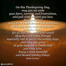 thanksgiving day morning blessing meaningful thoughts