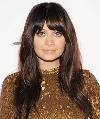 hairstyles for long hair long bangs blunt bangs spring s hottest accessory for long hairstyles
