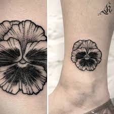 image result for pansy tattoo vine tattoo ideas pinterest