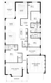 house plans with bonus room one story 4 bedroom mudroom 1816c 1