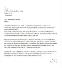 cover letter finance exles best internship college credits cover letter exles