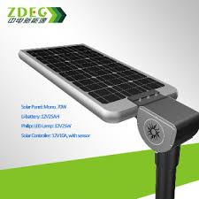 all in one solar street light zd sr2015a china all in one solar street light 30w good price