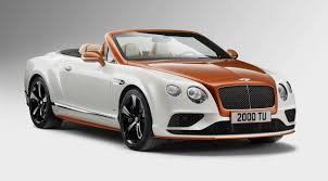 white bentley 2016 this orange flame bentley continental has mulliner u0027s touch all over it