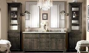 Restoration Hardware Vanity Lights Restoration Hardware Vanity Sink Table With Bathroom For