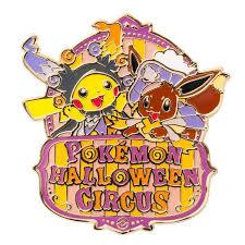 pokemon center 2016 pokemon halloween circus pin badge pins