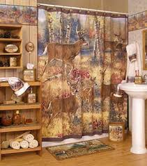 Cabin Shower Curtains Cabin Decor Accessories Whitetail Cabin Place