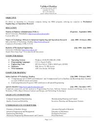 Sample Resume For Ojt Mechanical by Cv Objective Statement Example Resumecvexample Com In Resume
