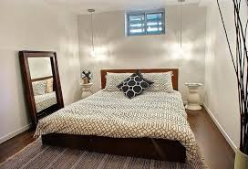 basement bedroom ideas wall mounted square beige low profile bed basement bedroom ideas
