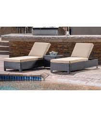 Sofa And Chaise Lounge Set by Patio Furniture Belmont 3 Piece Chaise Lounge Set