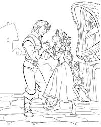 disney princess tangled rapunzel coloring sheets free printable