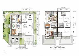 houses plan house plan awesome two storey semi detached plans 20 bedroom ranch