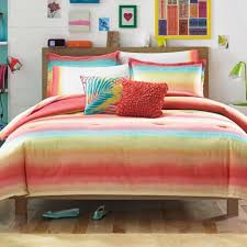 Beach Themed Comforter Sets Assorted Color Striped Bedding Set Complete With Of Beach Theme