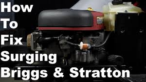 how to fix briggs u0026 stratton surging engine nikki carburetor
