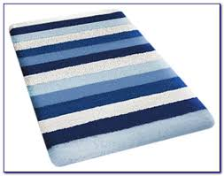 Navy Blue Bathroom Rug Set Blue Bathroom Rug Sets