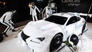 lexus rc f gt500 lexus reveals 2014 rc f gt500 race car for s gt