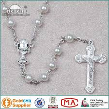 wedding rosary holy white glass wedding rosary with communion cup centerpiece