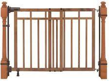 Banister Safety Summer Infant Wooden Baby Safety Gates Ebay