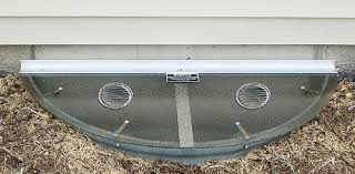Basement Window Dryer Vent by Wellexpert Window Well Covers Chicago Area