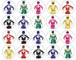 power rangers wrapping paper power rangers cake etsy