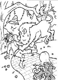 free wizard oz coloring pages kids coloringstar