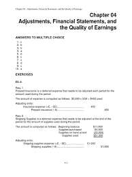 ch 04 review and discussion problems solutions expense debits