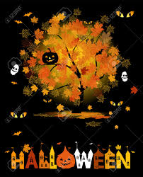 halloween party background for your design royalty free cliparts