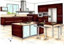 dessiner en perspective une cuisine cuisines et millésimes aménagement d intérieur cuisines